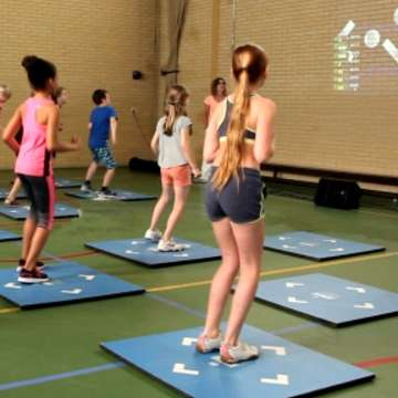 I-GameSports Brings Dance Games to the Classroom