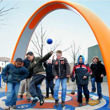 Sona Brings Interactive Games to School Playgrounds