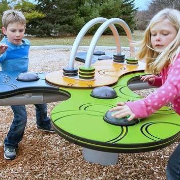 Pulse by Landscape Structures Brings Multisensory Games to Playgrounds