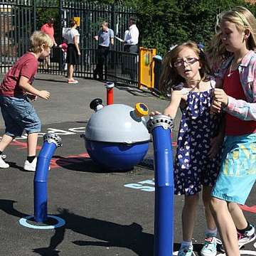 Wicksteed's Interactive Play Systems Bring Fun to School Play Areas