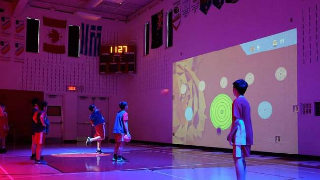 Lü Interactive Gym Enhances Learning, Play and Physical Activity at Schools