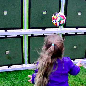 ShotSpot Interactive Wall Challenges Shooting Skills Through Competitive Outdoor Play