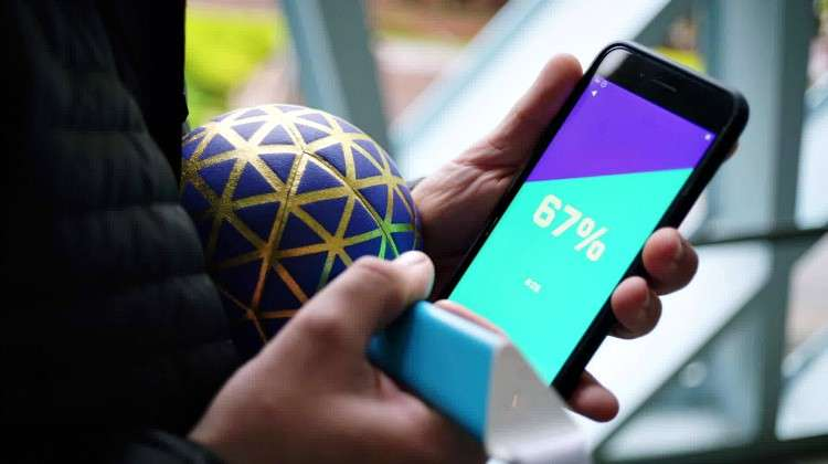 Play Impossible Gameball Introduces Digital Challenges to Ball Games
