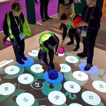 WizeFloor GO Mobile Active Play and Learning Solution Introduced at 2018 Bett Show
