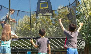 Healthy Engagement with Springfree Trampoline