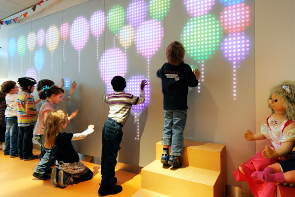 Nebula Interactive Wall For Active Play And Fun Fitness