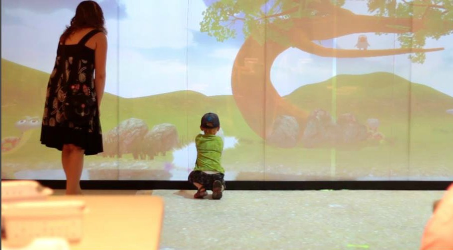Po-motion Interactive Display Software Brings Floors and