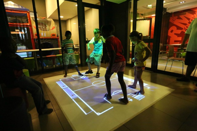 immersive interactive playground