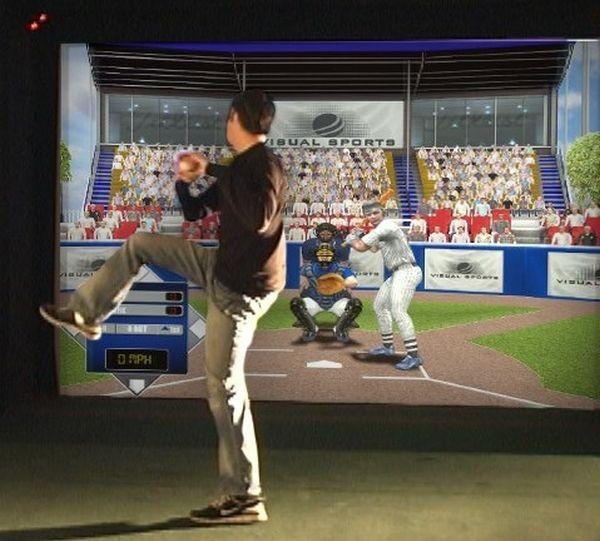 Virtual Reality Baseball Games