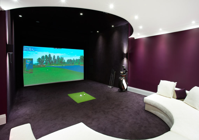 Realistic golf simulations with aboutgolf fitness gaming for Realistic house design games