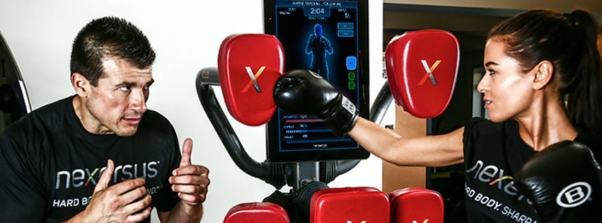 interactive boxing game