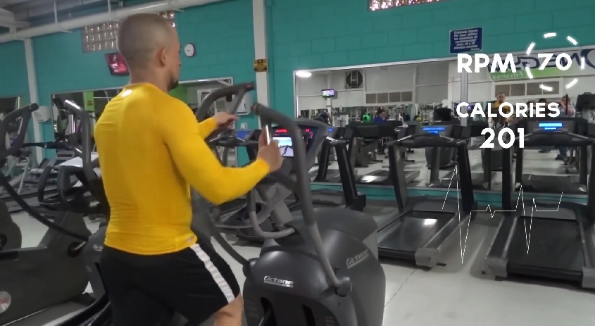 Gymtrack Transforms Exercise Into A Video Game Fitness