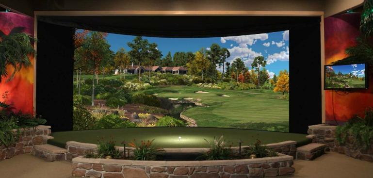 horizonte simulador de golf