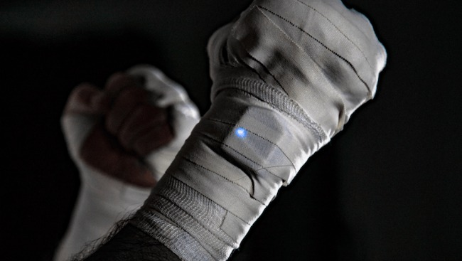 Hykso Wearable Punch Trackers Deliver Measurable Data to Help Boxers
