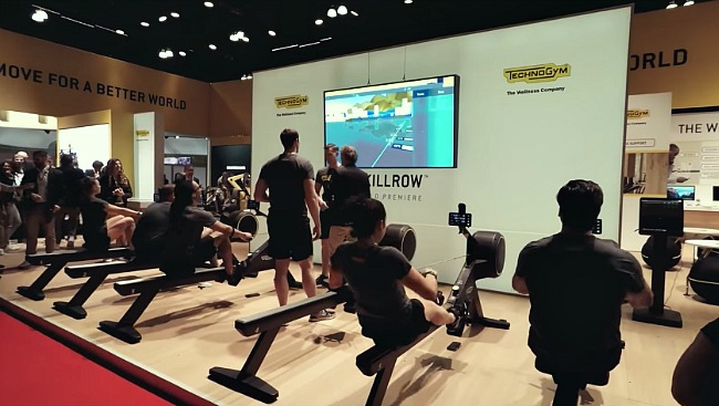 ihrsa 2017 showcases latest technologies for health and fitness clubs fitness gaming. Black Bedroom Furniture Sets. Home Design Ideas