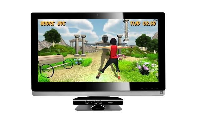 Las opciones de rehabilitación expande FysioGaming con Kinect Juegos