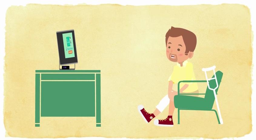 la plataforma virtual de la rehabilitación