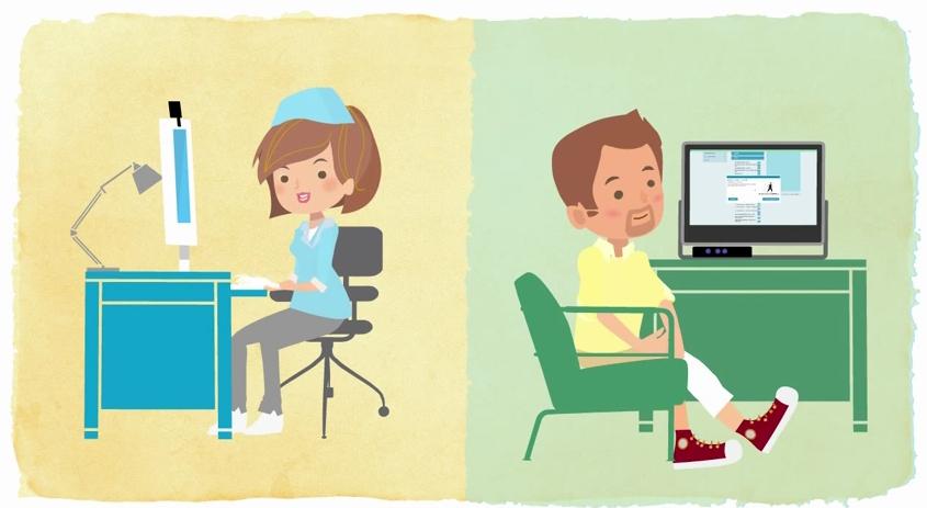 Plataforma virtual de Rehabilitación de Bienestar Dinamarca ayuda a los pacientes a recuperarse más rápido