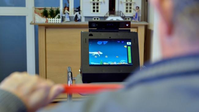 SilverFit compacto trae Rehabilitación en los hogares de los pacientes