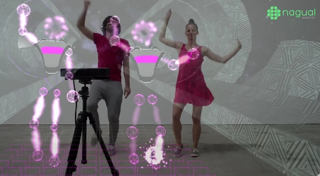 Nagual Dance Turns Dance Moves into Music | Fitness Gaming