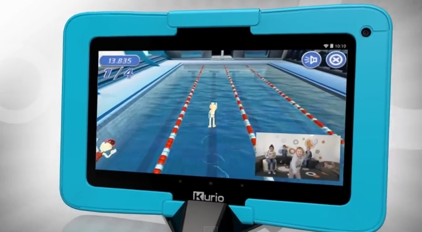 Kurio Xtreme Tablet Offers Motion Games for Kids - Fitness