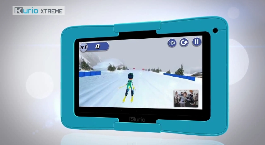 Kurio xtreme tablet offers motion games for kids fitness gaming