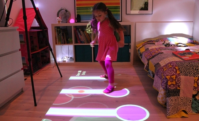 lumo play interactive projector now tracks children 39 s toys