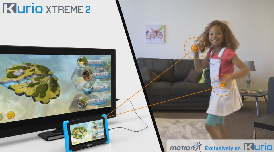 Kurio Xtreme 2 Tablet Offers Multiplayer Motion Games for
