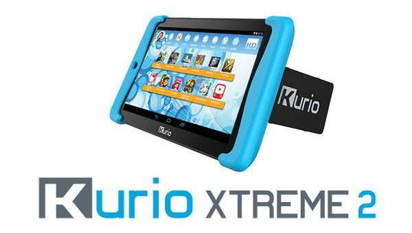 Kurio xtreme 2 tablet offers multiplayer motion games for children