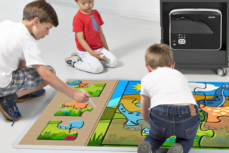 Interactive Floor In School