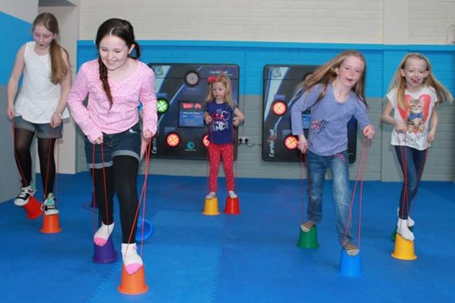 Ikids Interactive Zone Inspires Children To Get Active