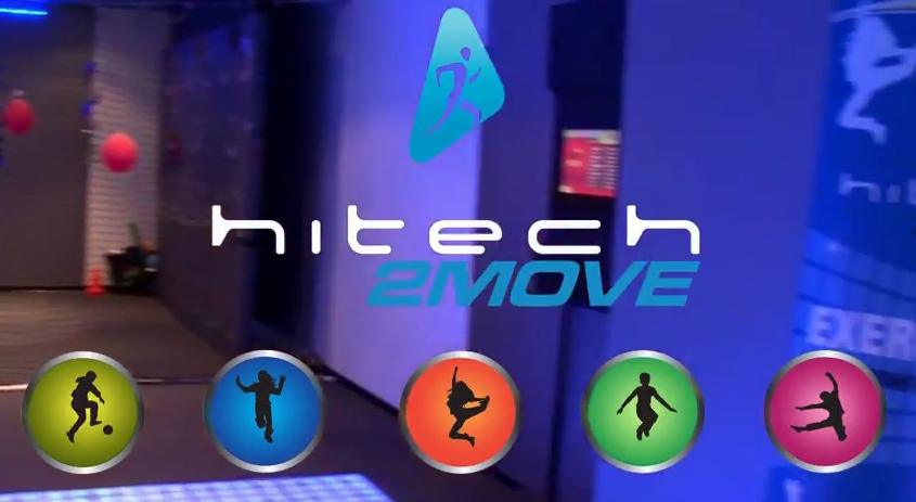Hitech 2move combines gaming with multisensory fitness for Exterieur equipement villeneuve loubet